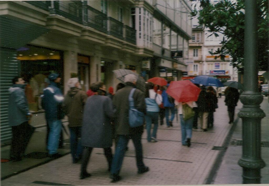 Visita á cidade histórica de Lugo