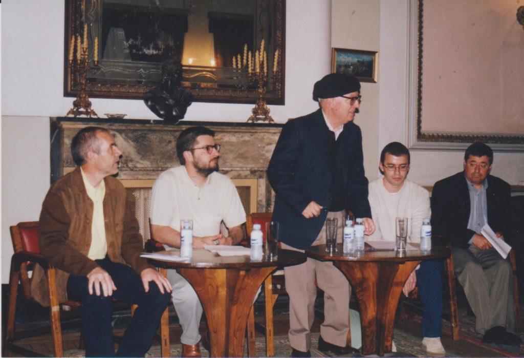 Entrega III Premio Estudos Bergantiñáns (2001)