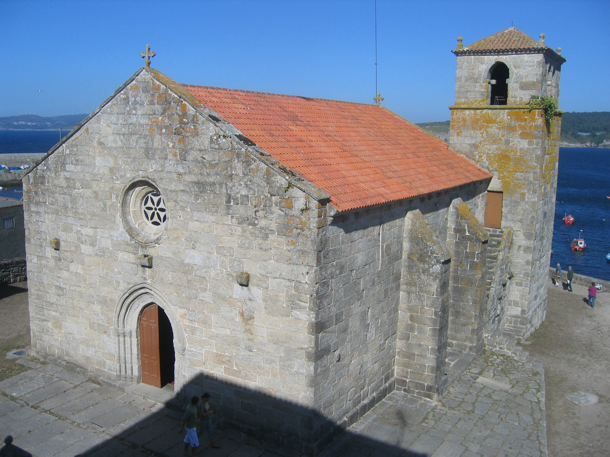 Igrexa de Sta. Mª da Atalaia. Laxe