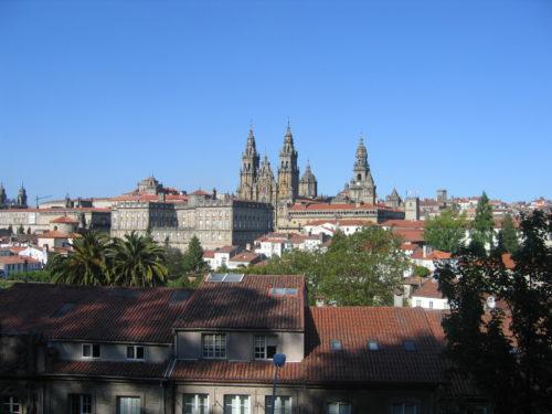 Visita á catedral e ao casco histórico de Santiago