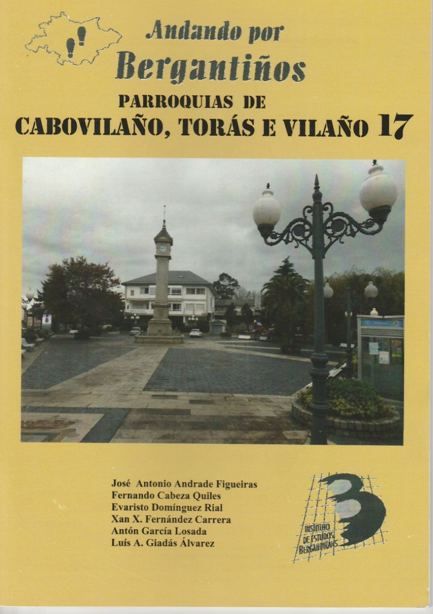 Andando por Bergantiños nº17 (marzo 2016): Parroquias de Cabovilaño, Torás e Vilaño