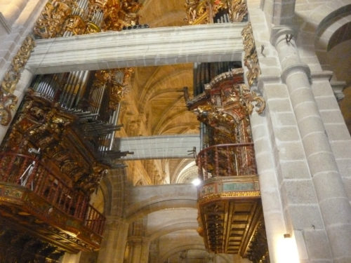 Baixo Miño. Interior da catedral de Tui.