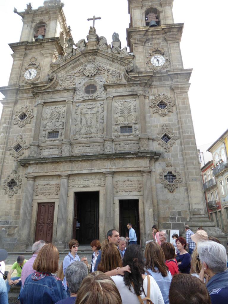 Ruta polas cidades de Braga e Viana do Castelo. Braga, Igreja de Santa Cruz.