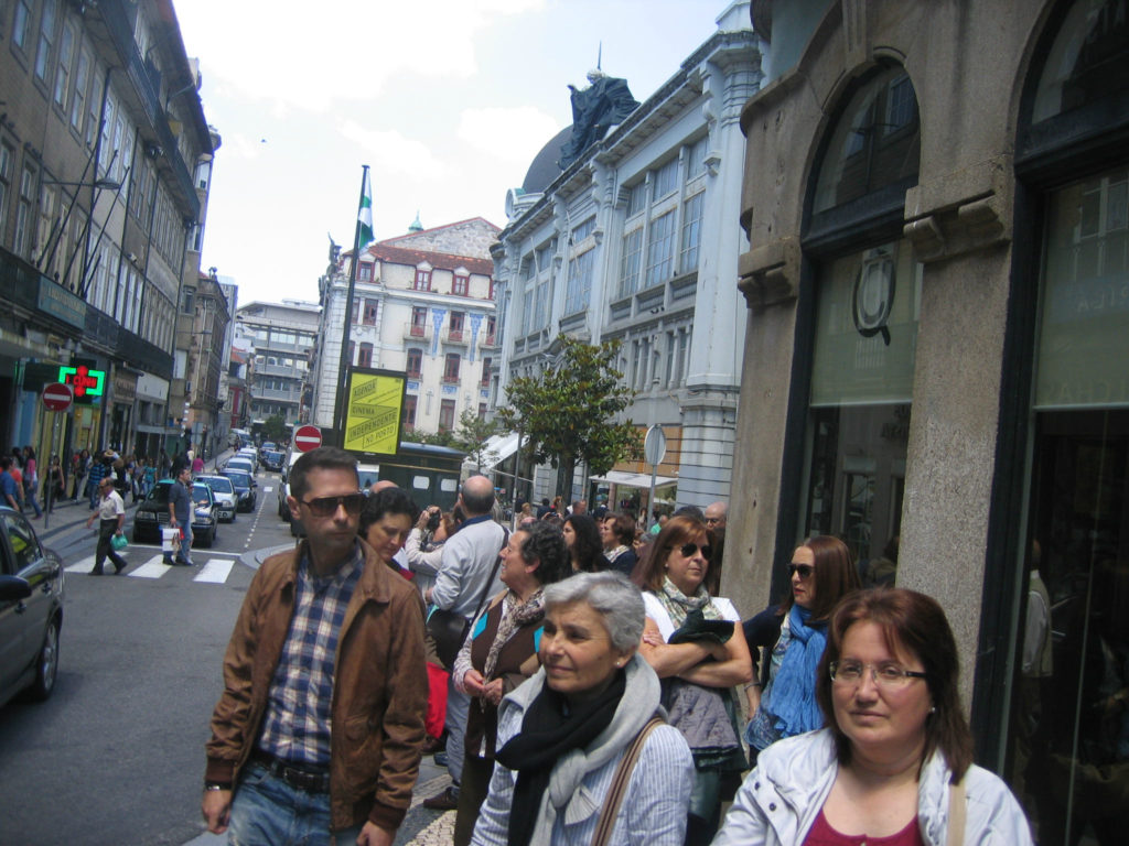 Ruta pola cidade de Porto