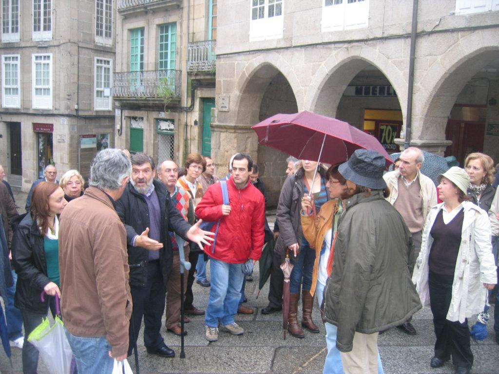 Viaxe a Ourense. Praza Maior
